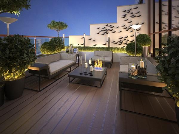 Balkone dachterrassen dachdecker jansen langenfeld for Terrazza arredata